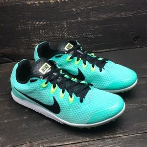 Nike Women's Rival D Distance Spikes Size 7.5
